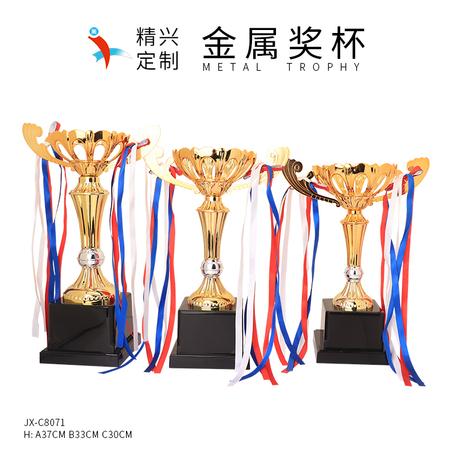 花朵奖杯镂空奖杯定做 上海模特比赛奖杯选美比赛冠军奖杯