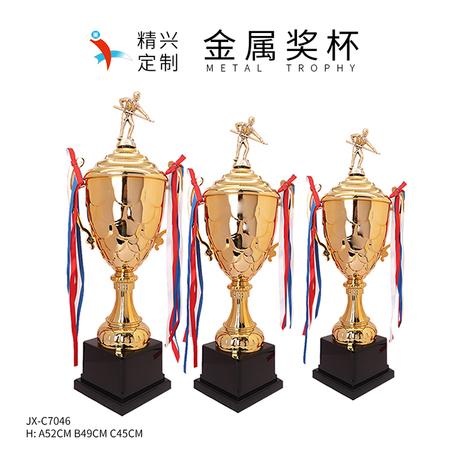 定制奖杯金属奖杯 桌球斯诺克奖杯设计定做 深圳直销
